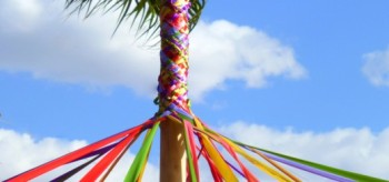 palm and maypole